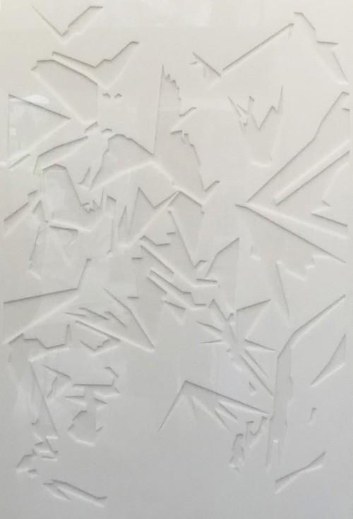 """JV 17/92"", Acrylglas, 74 x 108 x 4 cm, 2010"