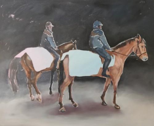 Stefan Wirnsperger, A New Style,  2018, 45 x 55 cm, Öl auf Leinwand,