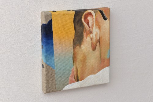Konstruierte Masse, 2017, Öl auf Leinwand, 20 x 18 cm 1.300,- € (Set, 3 Werke)