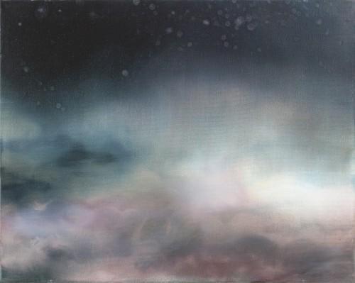 Christoph Srb, EVE 2, 2016, 40 x 50 cm, Öl auf Leinwand