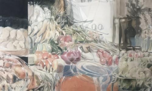 Christoph Srb, 2018, 80 x 130 cm, Öl auf Leinwand
