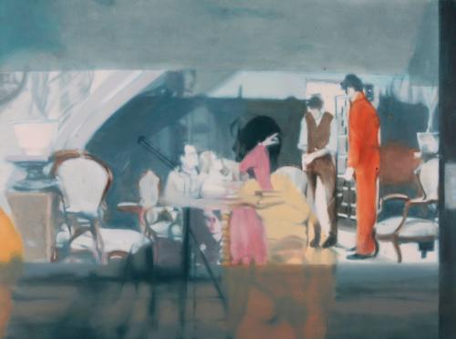Orange 4 (32), 2009, 110 x 145 cm, Öl auf Leinwand