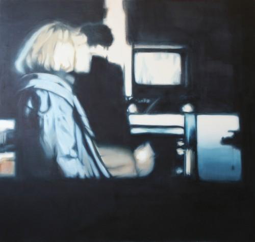 Ohne Titel 18, 2008/09, 160 x 170 cm, Öl auf Leinwand