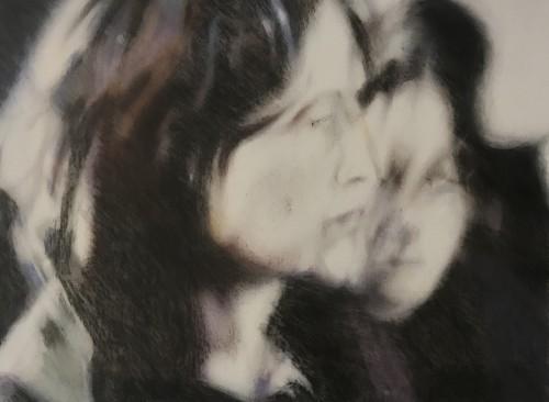 Anna und Eva, 2006, 38 x 50 cm, Pastell auf Leinwand