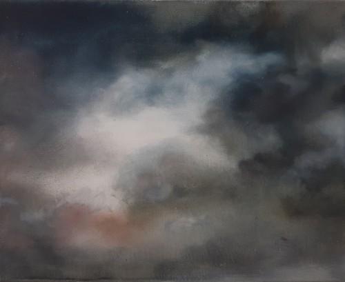 Christoph Srb, Öl auf Leinwand,  42 x 33 cm