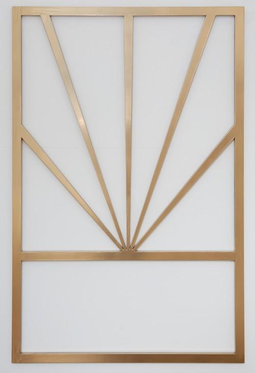 Unbetitelt (upside down horizon), 2020 Holz, Lack, 130 x 90 cm