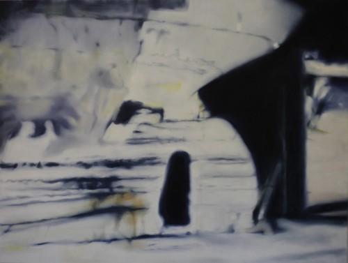 Ohne Titel 59, 2011, 110 x 145 cm, Öl auf Leinwand