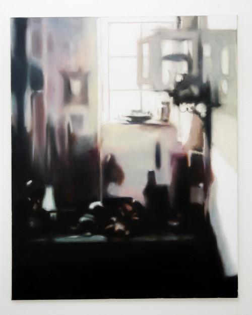 Hellraiser, 2020 Öl auf Leinwand, 100 x 80 cm
