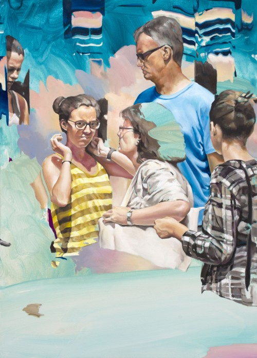 Potpourri, 2018, Öl auf Leinwand, 140 x 100 cm 4.000,- €