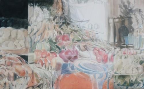 Odette, Öl auf Leinwand,  80 x 130 cm, 2017/18