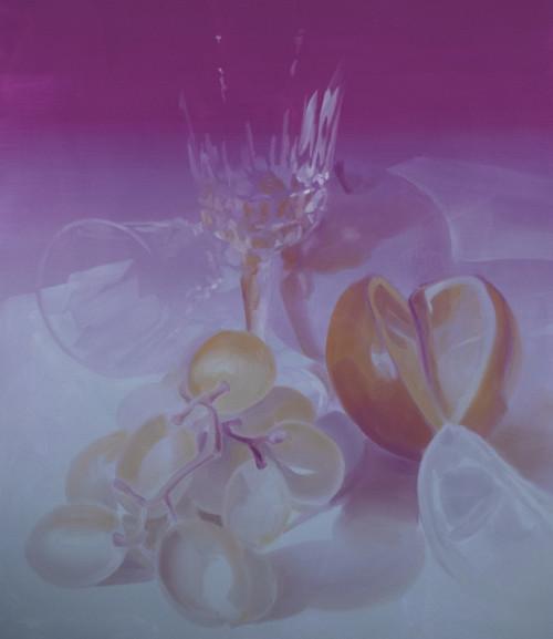 UT (Crystal) 4, 2021 Öl auf Leinwand, 160x140 cm