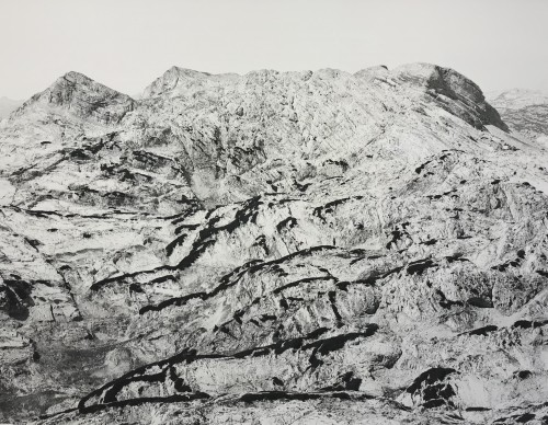 Totes Gebirge, Archival Ink Print, 140 x 183 cm, edition 5+1