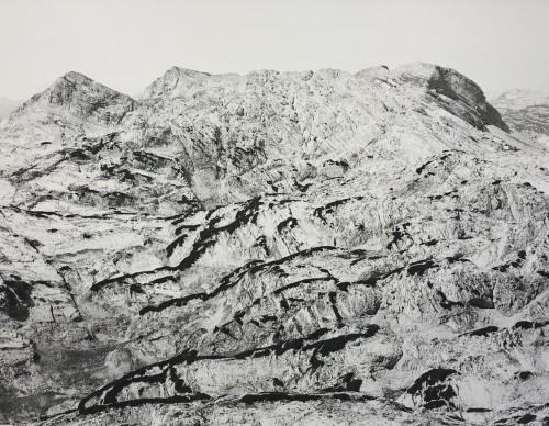 Totes Gebirge, Archival Ink Print, 140 x 183 cm, edition 5+1