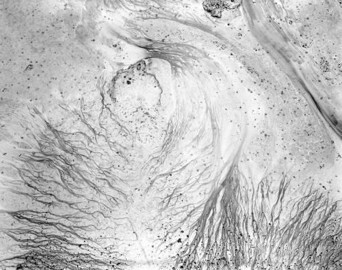 Lunar Surface V, Serie: Yenisey -2, Archival Ink Print, 79 x 100 cm, edition 5+1