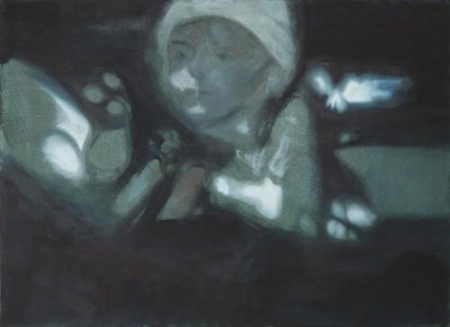 Ohne Titel 11, 2008, 80 x 110 cm, Öl auf Leinwand