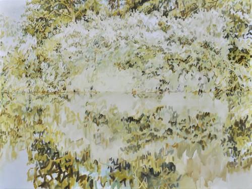 Kaleidoskop, Öl auf Leinwand, 120 x 160 cm, 2017