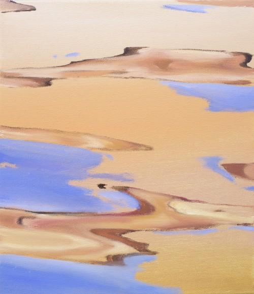 Overflow, 2018, Öl auf Leinwand, 35 x 30 cm 1.000,- €