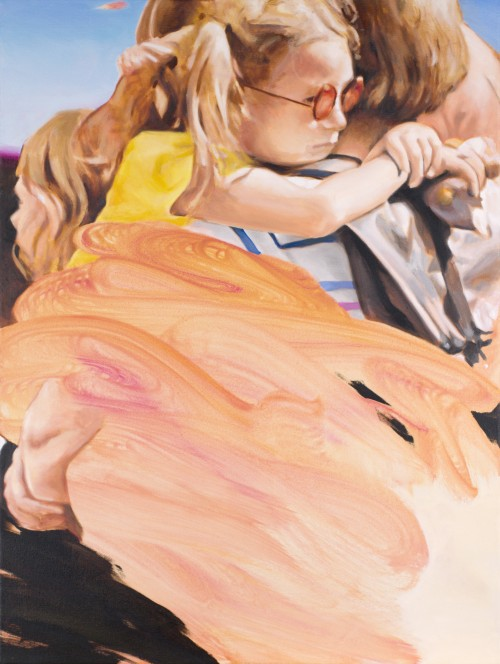 street romance, 2020, Öl auf Leinwand, 80 x 60 cm