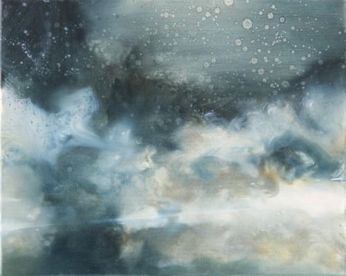 Christoph Srb, EVE 3, 2016, 40 x 50 cm, Öl auf Leinwand