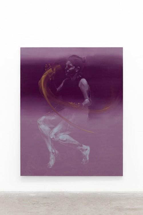 UT (M Gesture) 1 2019 Öl auf Leinwand 195×155cm