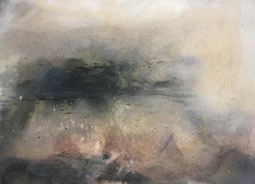 EVE 8, 2016, 26 x 37 cm, Öl auf Leinwand