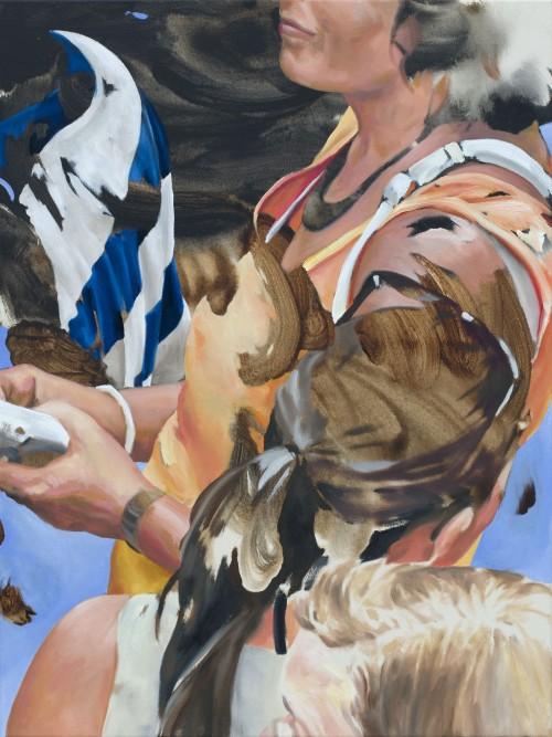 Potpourri, 2017, Öl auf Leinwand, 80 x 60 cm 2.100,- €