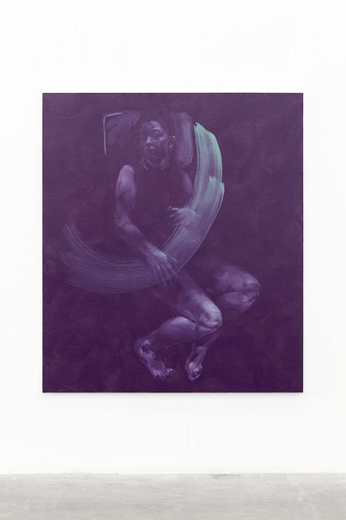 UT (Gesture) 2 2019 Öl auf Leinwand 155 × 135 cm