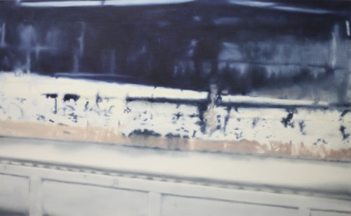 Ohne Titel 58, 2011, 80 x 130 cm, Öl auf Leinwand