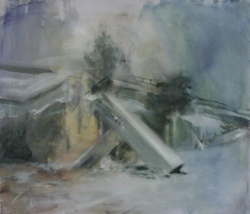 Interieur 17, 2013, 68 x 80 cm, Öl auf Leinwand