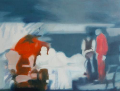Orange 3 (31), 2009, 85 x 110 cm, Öl auf Leinwand