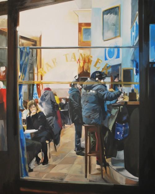 Mirada, Öl auf Leinwand, 2020, 162 x 130 cm