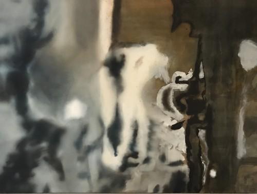 Ohne Titel 39, 2009, 110 x 145 cm, Öl auf Leinwand
