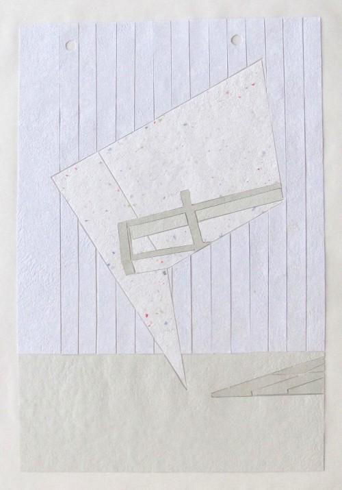Bubble, Handgeschöpftes Papier auf Transparentpapier, 43 x 58 cm, 2011