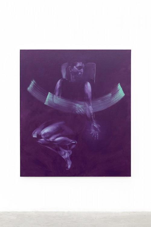 UT (Gesture) 1 2019 Öl auf Leinwand 155 × 135 cm