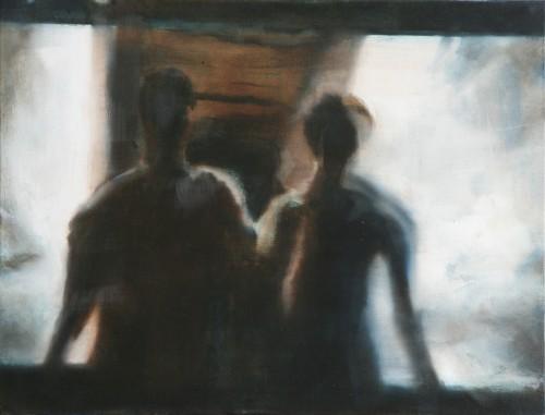 Ohne Titel 27, 2009, 50 x 65 cm, Öl auf Leinwand