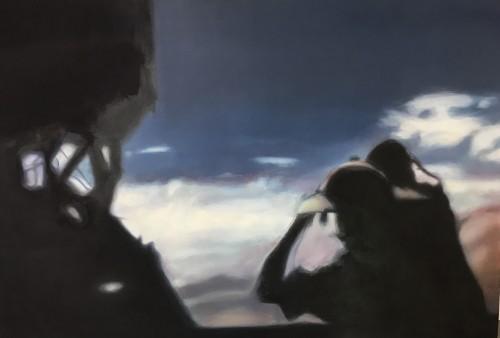 Ohne Titel 61, 2011, 75 x 110cm, Öl auf Leinwand