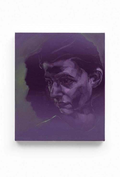 UT (Almost Like A Shadow) 2019 Öl auf Leinwand 60 x 49 cm