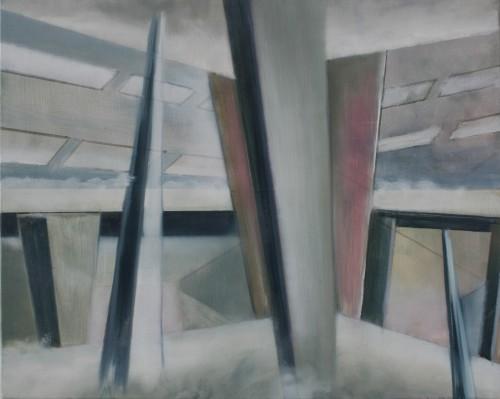 Interieur 26, 2014, 60 x 75 cm, Öl auf Leinwand