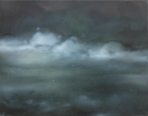 EVE 5, 2016, 33 x 42 cm, Öl auf Leinwand