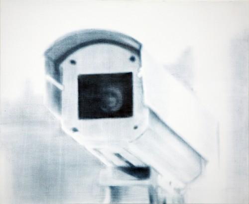 Christoph Srb, Kamera 1, 2006, 70 x 80 cm, Öl auf Leinwand