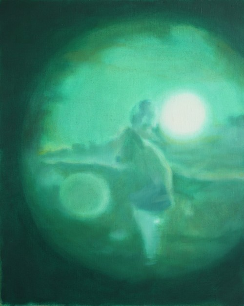 Ohne Titel 52, 2011, 80 x 100 cm, Öl auf Leinwand