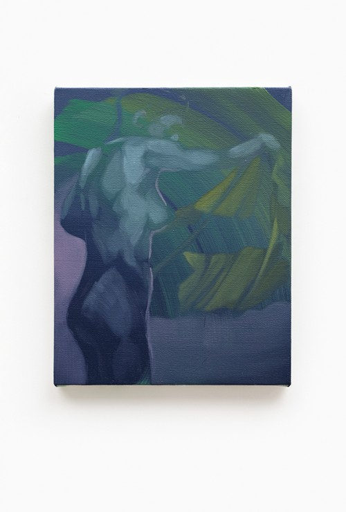 UT (After Muybridge) 2019 Öl auf Leinwand  39 × 31 cm