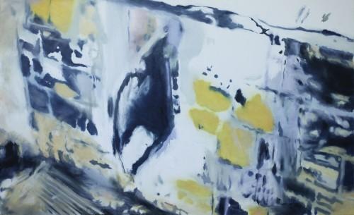 Ohne Titel 60, 2011, 80 x 130 cm, Öl auf Leinwand