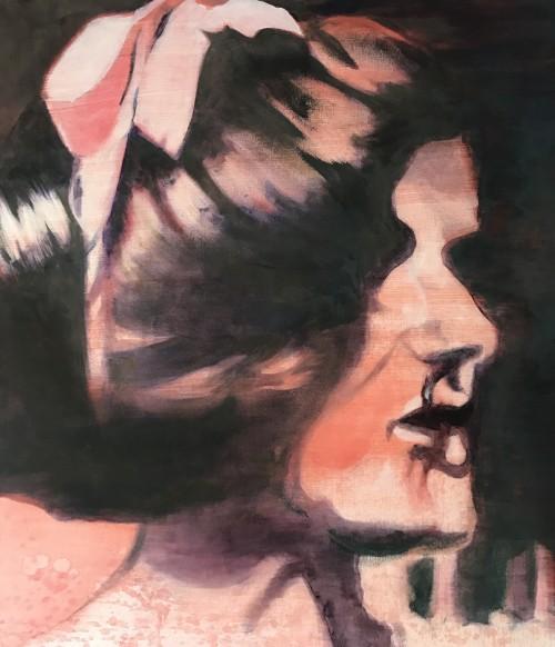 80 x 70 cm, Acryl auf Leinwand